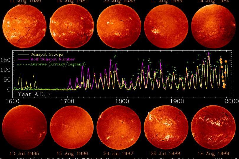 رصد زيادة في النشاط الشمسي