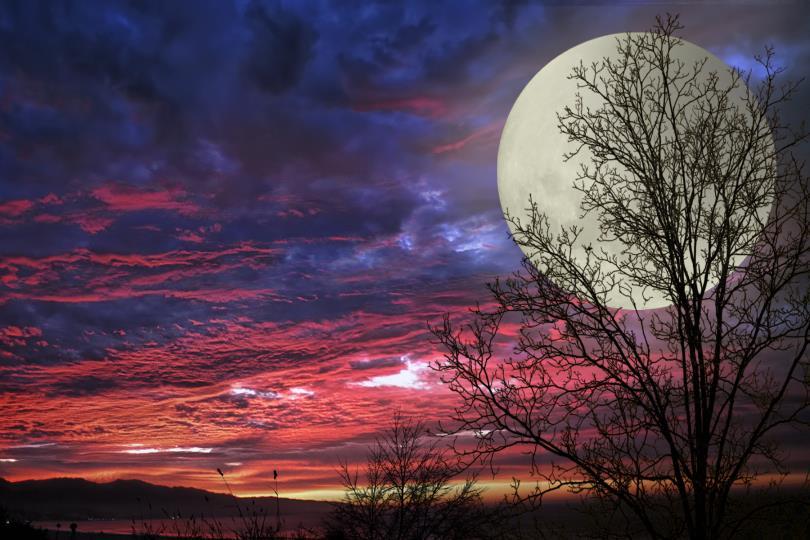 القمر الفائق منتصف شعبان هذا العام 1434هـ 2013م