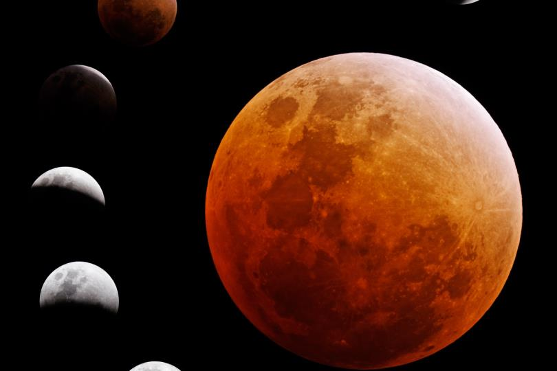 في حدث فلكي نادر: كوكب أورانوس يختفي خلف القمر أثناء الخسوف الكلي للقمر