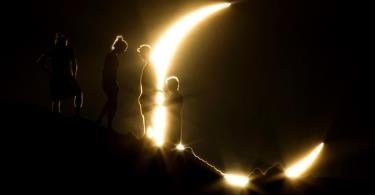 كسوف للشمس يشاهد من أجزاء من المنطقة العربية