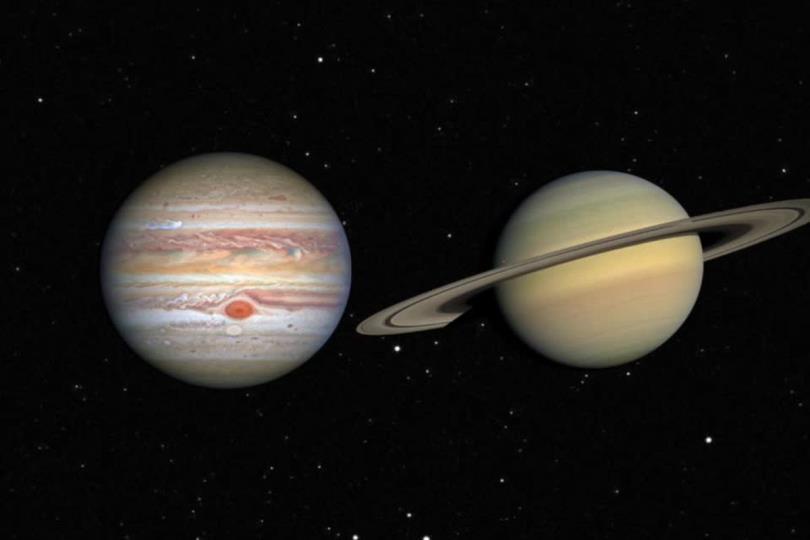 اقتران المشتري وزحل مساء الإثنين 21 ديسمبر: العالم يشهد ظاهرة فلكية نادرة لم تحدث منذ 400 سنة