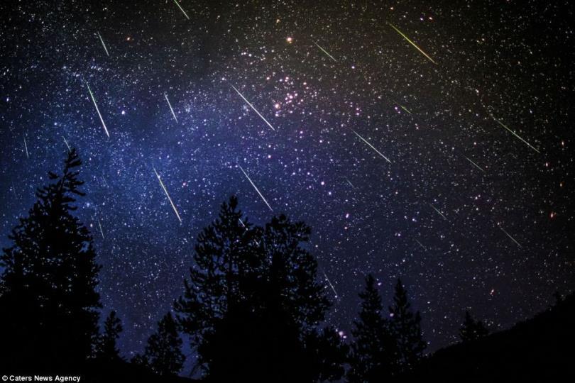 """زخة من شهب """"الرباعيات"""" يتوقع رؤيتها في السماء ليلة السبت"""