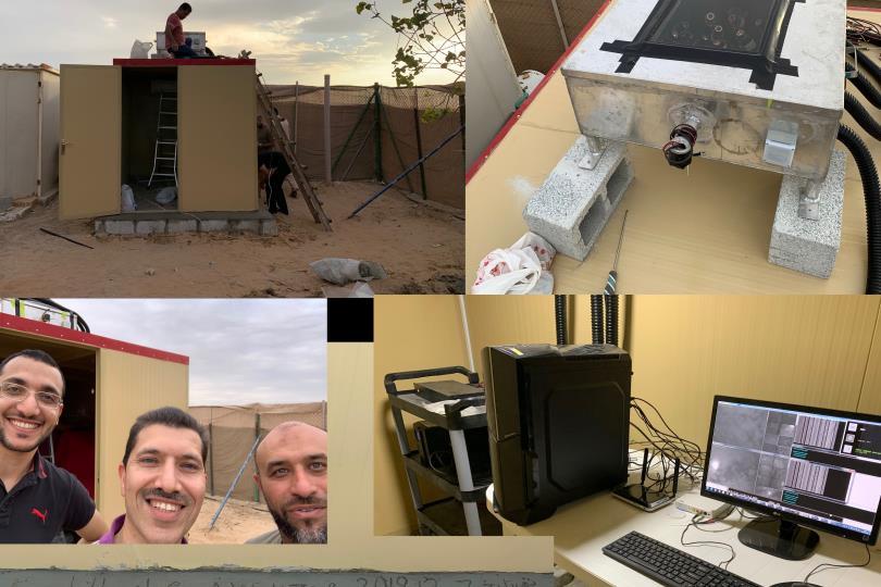 """بالتعاون مع وكالة الفضاء الأمريكية """"ناسا"""": الإمارات تشغل المحطة الثالثة لرصد الشهب بشكل آلي"""