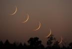 صور ونتائج رصد هلال العيد  2020م (شوال 1441 هـ) من مختلف دول العالم