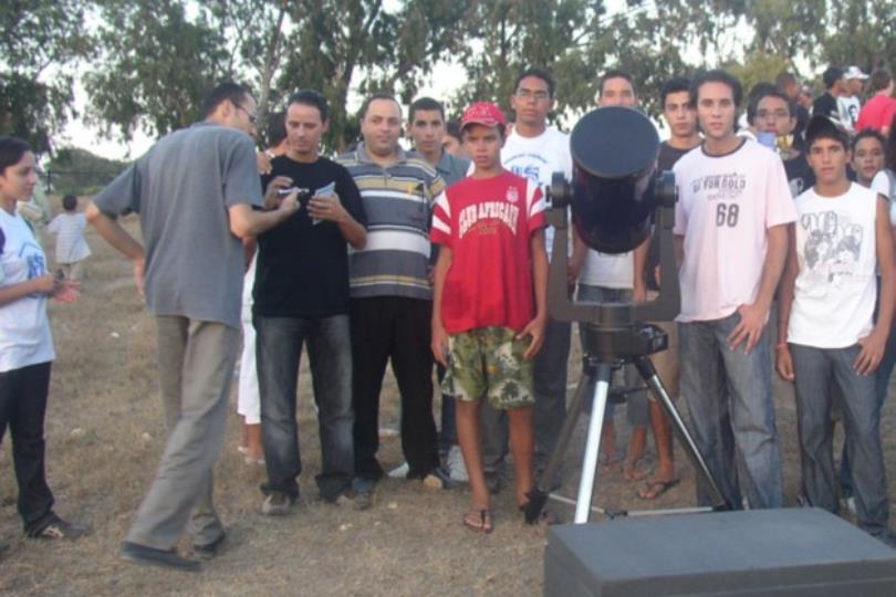 مشاركة المشروع الإسلامي لرصد الأهلة في الملتقى الفلكي العربي الأول في الجزائر