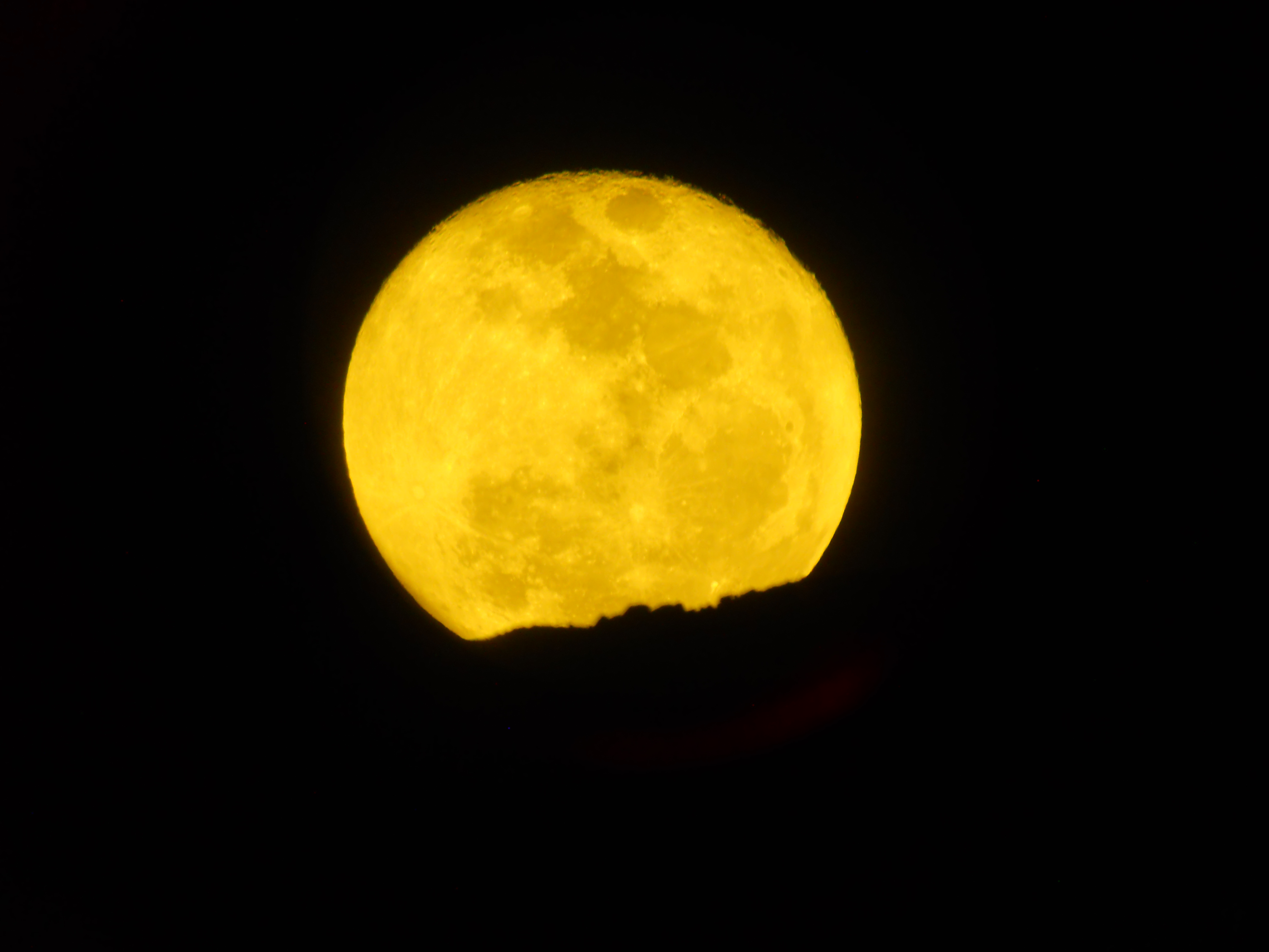 شروق القمر